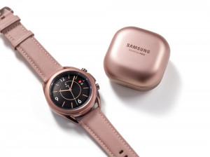 Samsung presenta los nuevos Galaxy Watch3 y Galaxy Buds Live