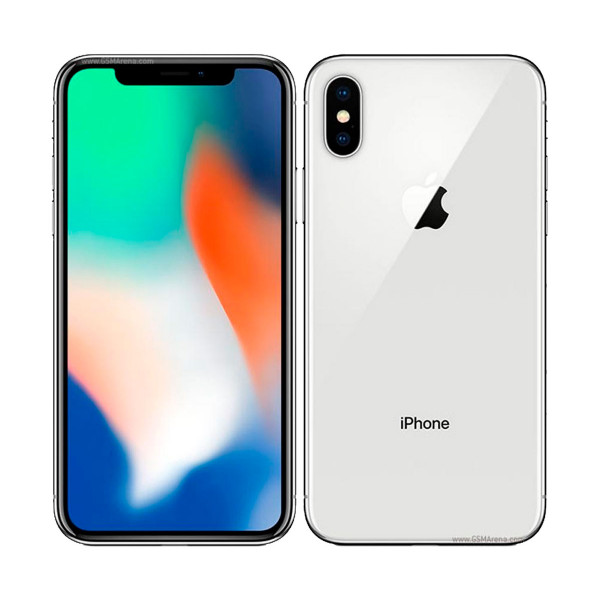 Apple Iphone X 64gb Plata Reacondicionado Cpo Móvil 4g 5 8'' Super Retina  Oled Hdr/6core/64gb/3gb Ram/12mp+12mp/7mp