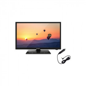 "Television 22"" Sunstech Hd Usb 12 Voltios"