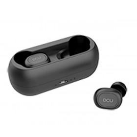 Dcu Earbuds Negro Auriculares Inalámbricos Dsp Bluetooth Con Micrófono Y Estuche-batería Ipx4