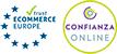 Entidade aderido a Confianza Online e com o selo de Ecommerce Europa