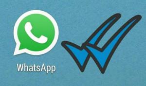 El nuevo 'doble check' azul de Whatsapp